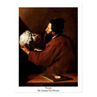 Touch By Jusepe De Ribera Postcard