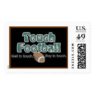Touch Football Postage Stamp