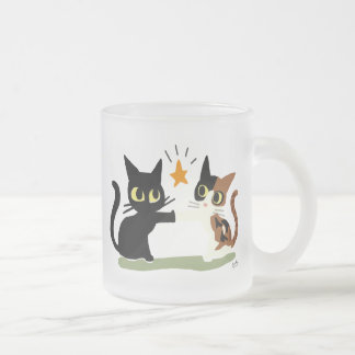 Touch! Frosted Glass Coffee Mug