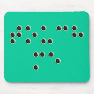 Touch Me (Braille) Mousepad