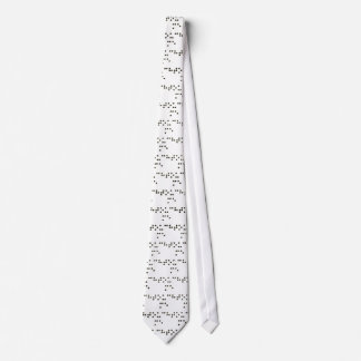 Touch Me (Braille) Tie