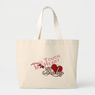 Touch - miss a Shirt Design Jumbo Tote Bag
