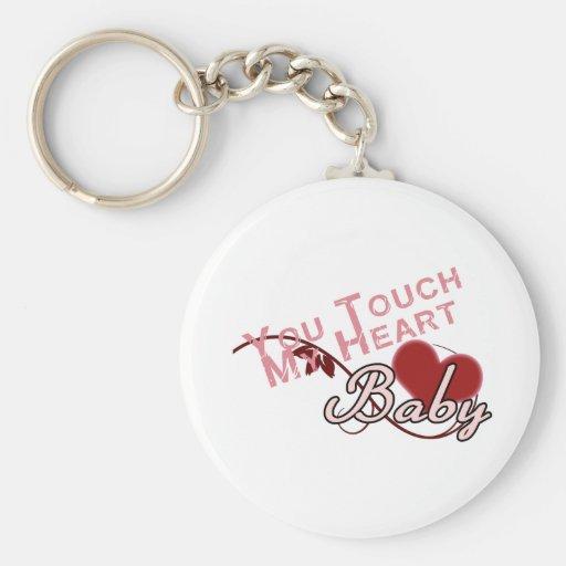 Touch - miss a Shirt Design Keychain