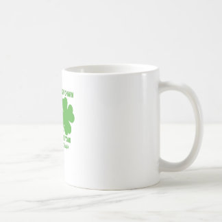 Touch My Lucky Charms - I'll Choke Your...png Classic White Coffee Mug