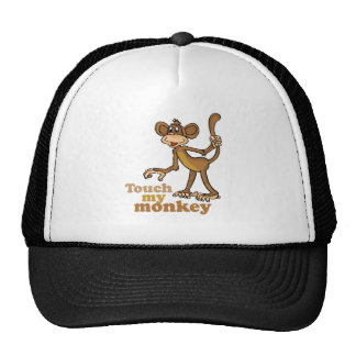 TOUCH MY MONKEY TRUCKER HAT