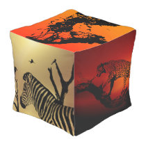 touch of africa outdoor pouf