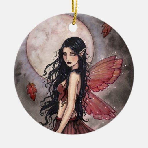 Touch of Autumn Fairy Ornament