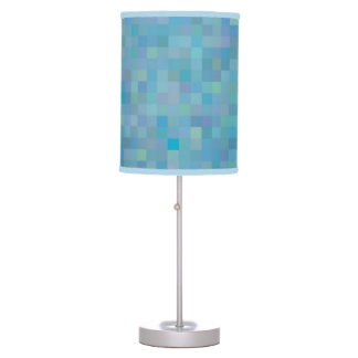 Touch of blue table lamp