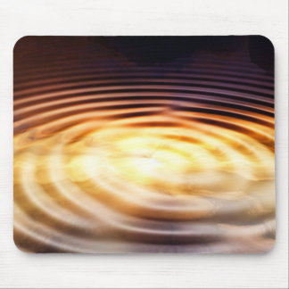 Touch of Gold Mouse Pad