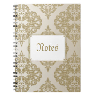 Touch of Gold Note Book