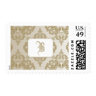 Touch of Gold Postage Stamp