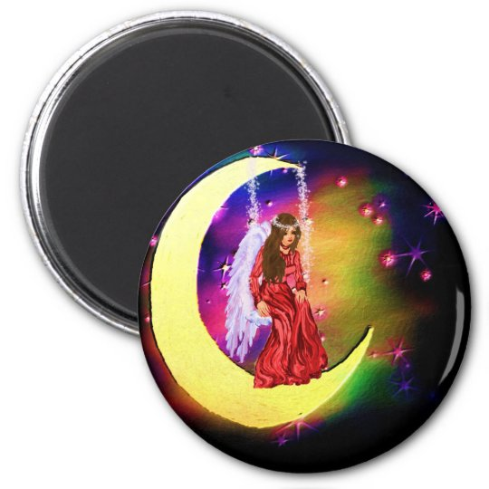 touch of heaven 2 inch round magnet