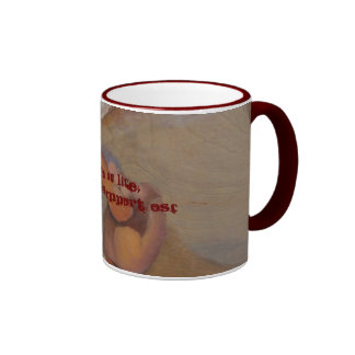 Touch of Life, Proudly support OSF Ringer Coffee Mug