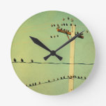 Touch Of Lomo Round Wall Clocks