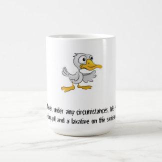 Touch of Sarcasm:  Never... Coffee Mug