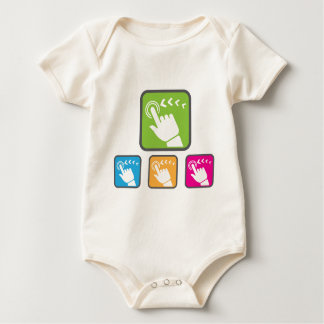 Touch Screen icon Baby Bodysuit