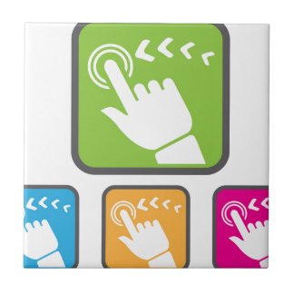 Touch Screen icon Ceramic Tile