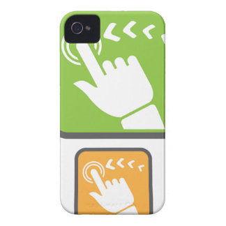 Touch Screen icon iPhone 4 Cover