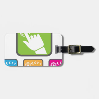 Touch Screen icon Luggage Tag