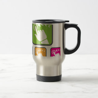 Touch Screen icon Travel Mug