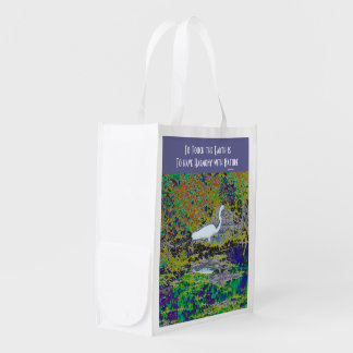 touch the earth reusable grocery bag