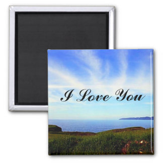 Touch The Sky 2 Inch Square Magnet
