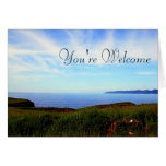 Touch The Sky Greeting Card