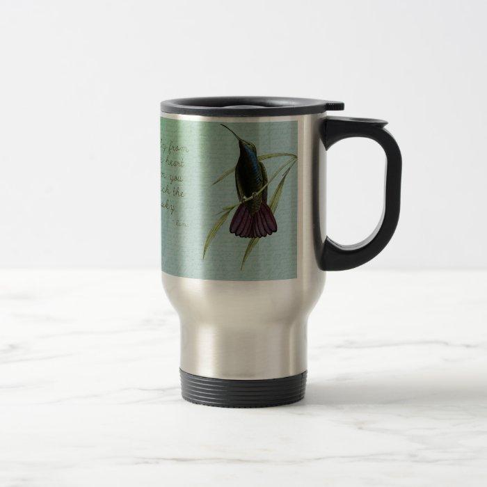 Touch the Sky Hummingbird Travel Mug