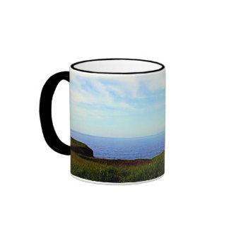 Touch The Sky Ringer Mug