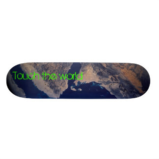 Touch the world skateboard deck