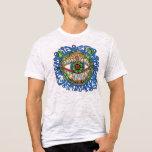 Touch T's (Tribal) Blue Frog-Eye Medicine Shirt