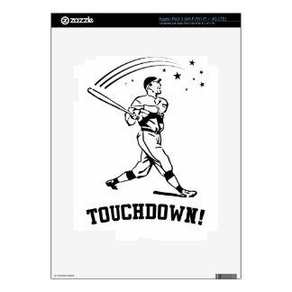 Touchdown Baseball iPad 3 Decal