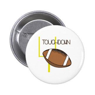 Touchdown Pinback Buttons
