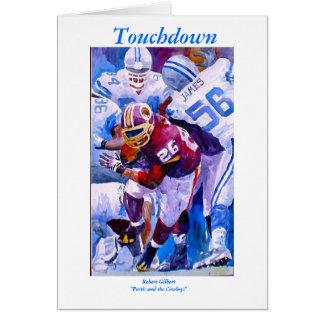 Touchdown Card