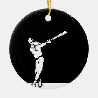 Touchdown Ceramic Ornament