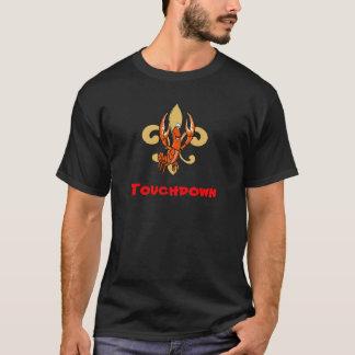Touchdown!  Fleur de Lis, Crawfish Kick Dat T-Shirt