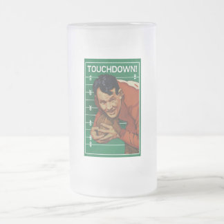 Touchdown Frosted Beer Mug
