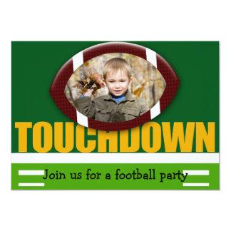 Touchdown Invitation