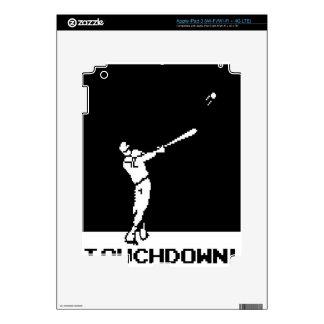 Touchdown iPad 3 Decal