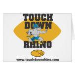 Touchdown Rhino Card