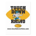 Touchdown Rhino Postcards