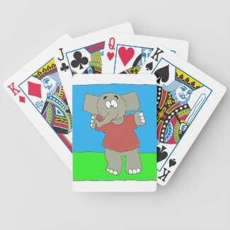 Touchdown Taunt Bicycle Playing Cards