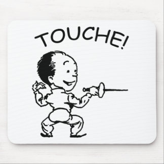 Touche Fencing Mouse Pad