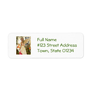 Touched by an Angel Return Address Label