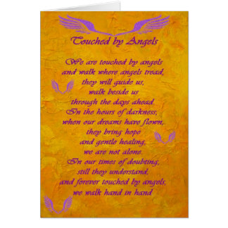 Touched by Angels Card