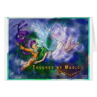 Touched By Magic Greeting Card