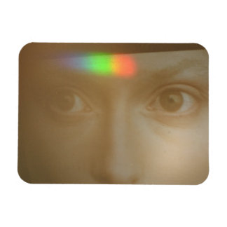 Touched By The Light 2013 photograph Rectangular Photo Magnet