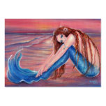 Touched by the Sun Mermaid business cards By Renee