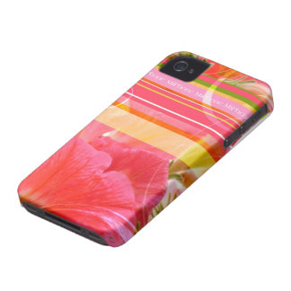 Touched petunia iPhone 4 covering Case-Mate iPhone 4 Case