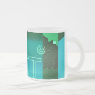 touching art - graphic kind cup coffee mug